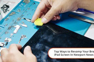 repair broken ipad in newport news